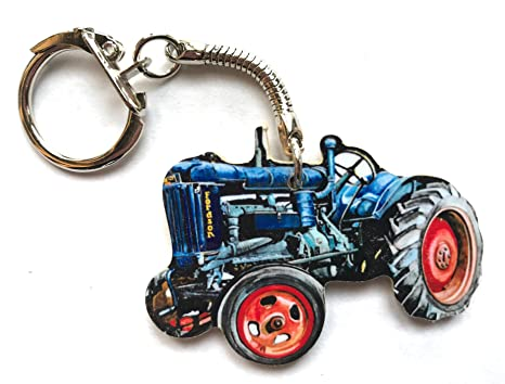 Larkrise Designs WT8K - Llavero, diseño de Tractor Fordson ...