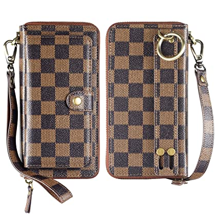 Amazon.com  iPhone 6 plus 6s Plus 7 Plus 8 Plus Wallet Case af78b123b9be