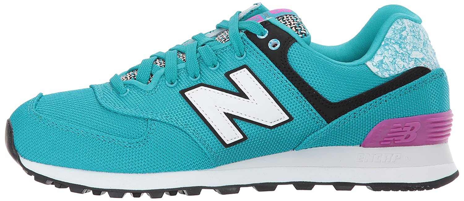 New Balance Women's 574v1 D Art School Sneaker B01N2JILC4 6 D 574v1 US|Pisces/Poisonberry c2cf63