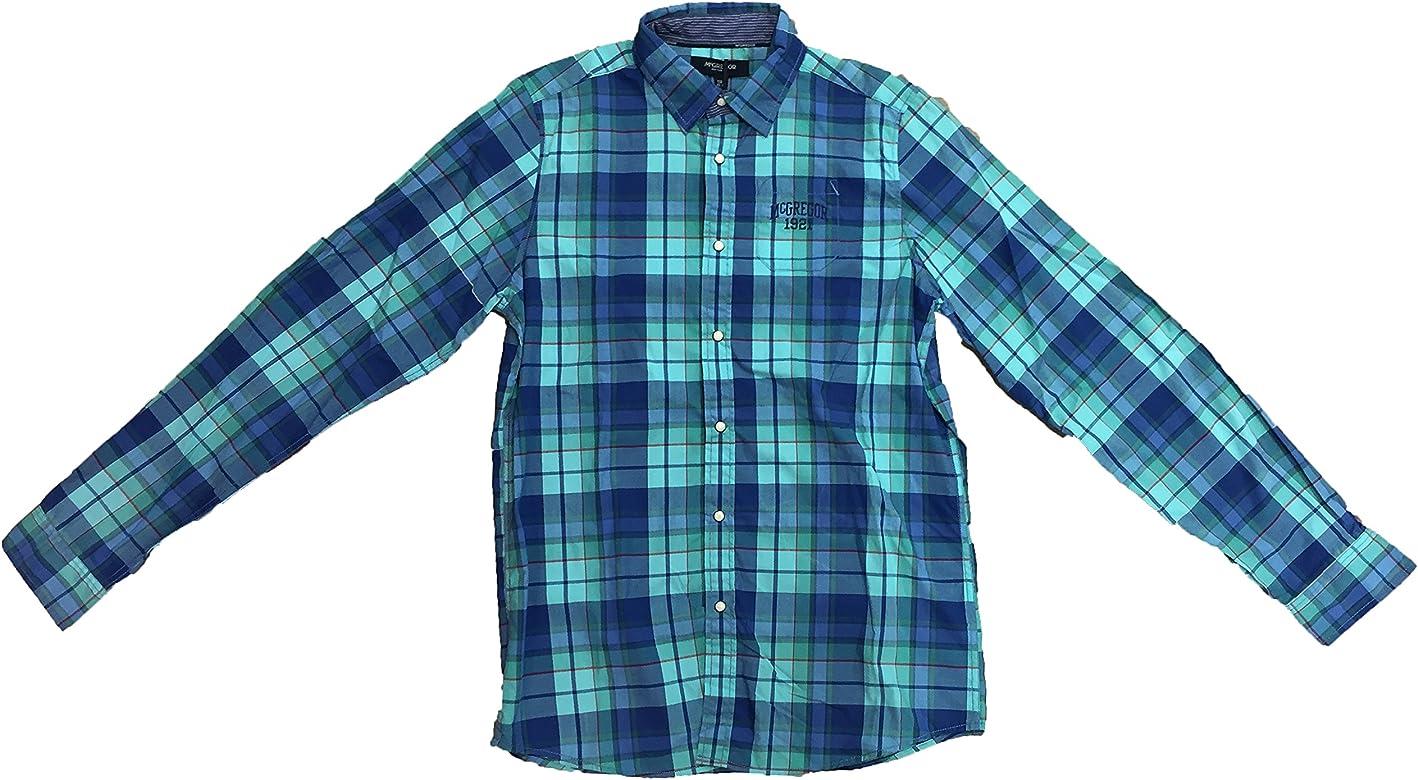 McGregor - Camisa de Manga Larga Pieter Mats, Chico, Color: Multicolor, Talla: 16 años: Amazon.es: Ropa y accesorios
