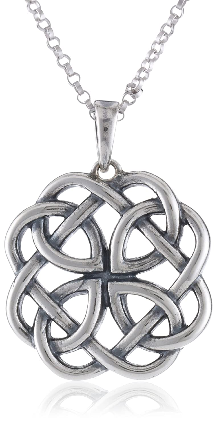 locket box silver knot celtic product necklace the treasure