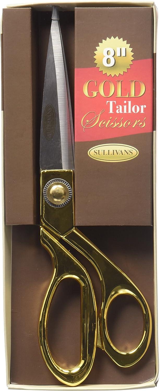 8 inch Sullivans Gold Tailor Scissors