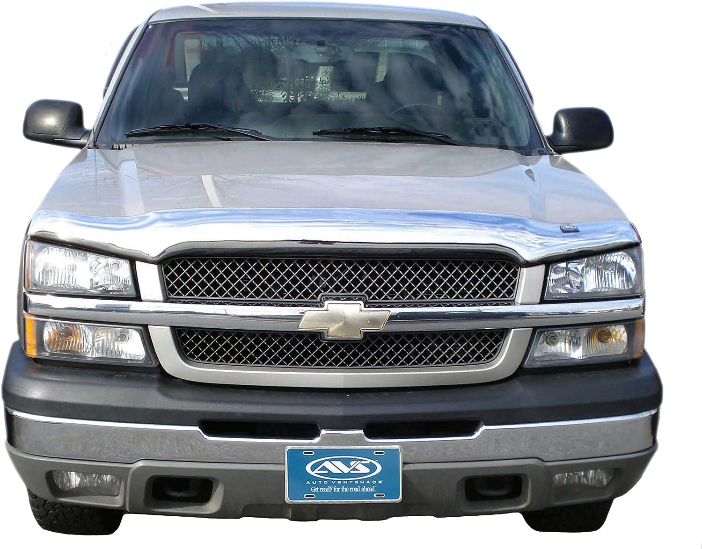 AVS Fits 02-06 Chevy Avalanche Bugflector Dark Smoke Hood Protector Shield 25457