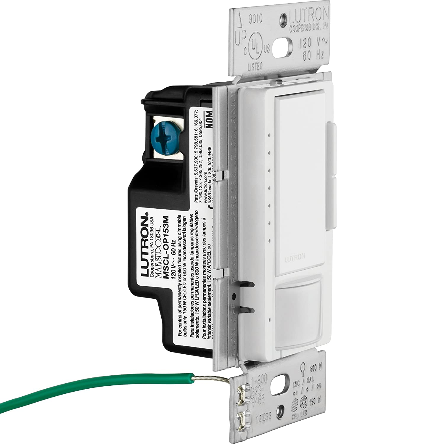 81Np1x7uO2L._SL1500_ lutron maestro c l dimmer and motion sensor, single pole and multi  at readyjetset.co