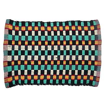 Handmade Indian Rugs Hand Woven Mat Cotton Rug Floor Carpet