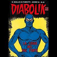 DIABOLIK (97): La legge del più forte (Italian Edition)