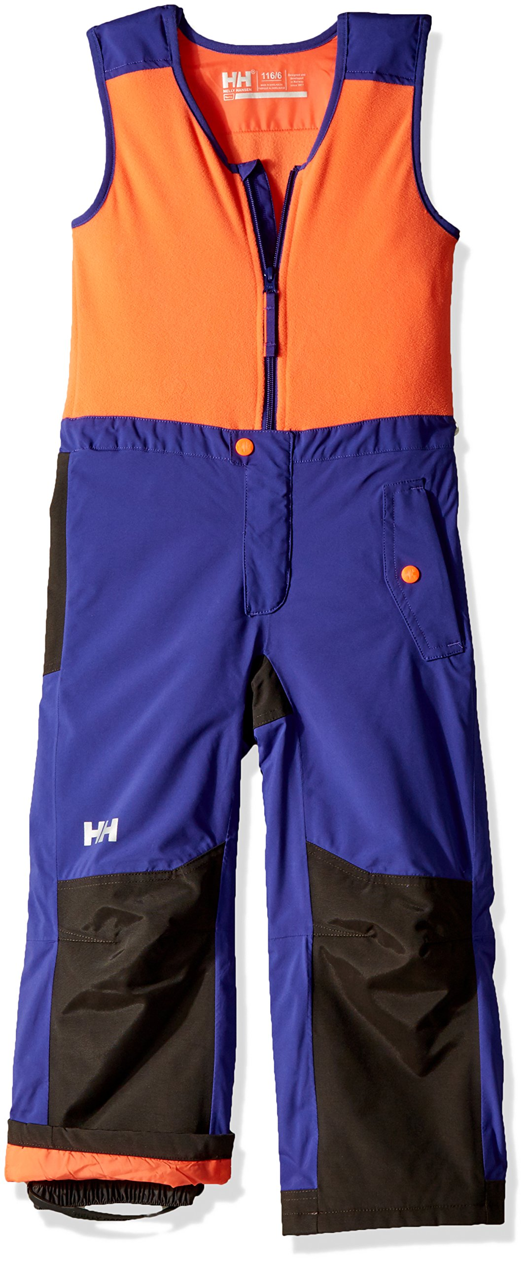 Helly Hansen Kid's Powder Bib Pants, Lavender, Size 7 by Helly Hansen