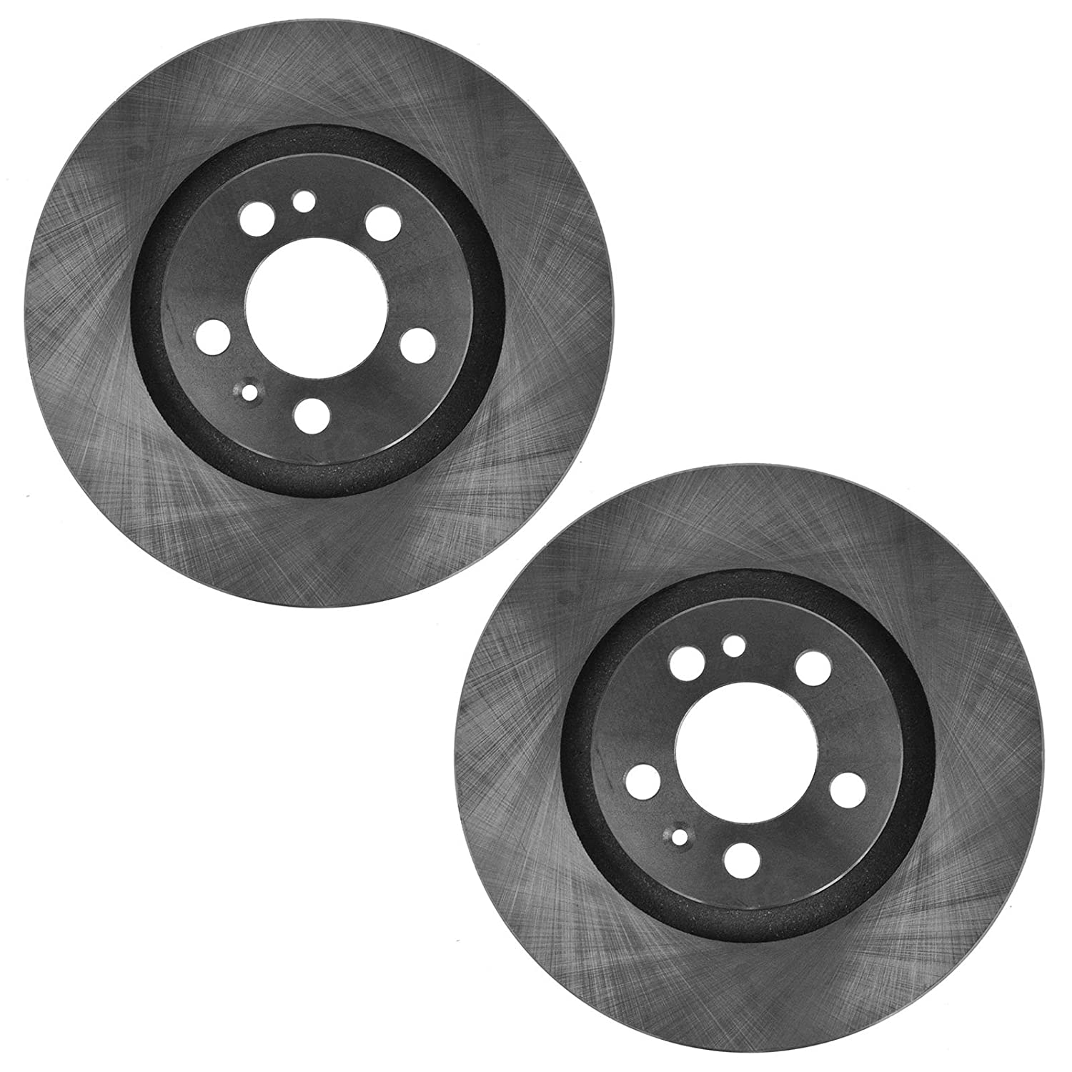 Vented Front Disc Brake Rotor Pair Set for VW Beetle Jetta