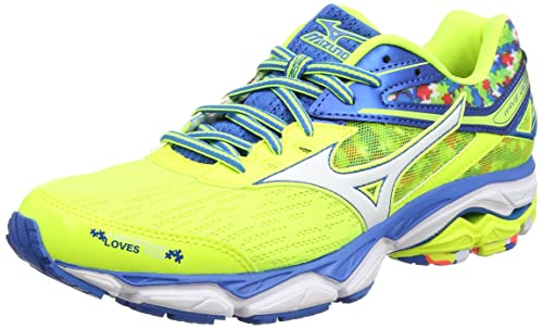Mizuno Wave Ultima Amsterdam, Zapatillas de Gimnasia para Hombre, Giallo (Safety Yellow/White/Directoire Blue), 39 EU: Amazon.es: Zapatos y complementos