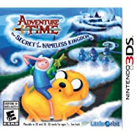ADVENTURE TIME SECRET NAMELESS - 3DS