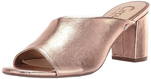 3f01932493 Circus by Sam Edelman Women's Suzanna Heeled Sandal, Blush Gold Metallic  Crackle, ...