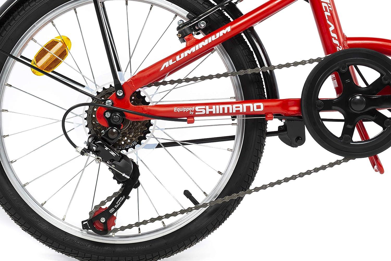 Moma Bikes First Class 2 Bicicleta, Adultos Unisex, Rojo, Talla única: Amazon.es: Deportes y aire libre