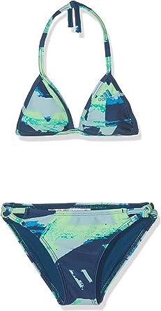 Pigmalión Estación Virus  Adidas DQ3382 - Bikini para niña, Multicolor / Shock Cyan, 128 / 7-8 Years:  Amazon.com.mx: Ropa, Zapatos y Accesorios