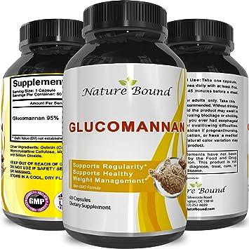 Amazon Com Premium Glucomannan Powder Fiber Weight Loss Supplement