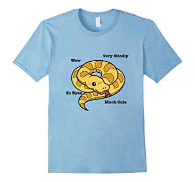 c09eb811 Amazon.com: Adorable Ball Python Snake Anatomy T-Shirt: Clothing