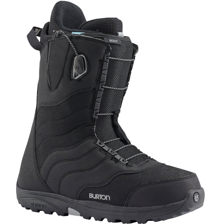 Burton Mint Snowboard Boot 2016 - Womens Black 9 by Burton