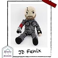 Muñeco JD Fenix de Gears 5 - muñeco tejido