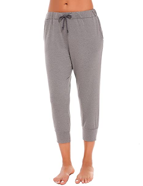 6469ca4cf4 Ekouaer Women Lightweight Breathable Comfy Sweatpants French Terry Joggers  Lounge Casual Pants at Amazon Women's Clothing store:
