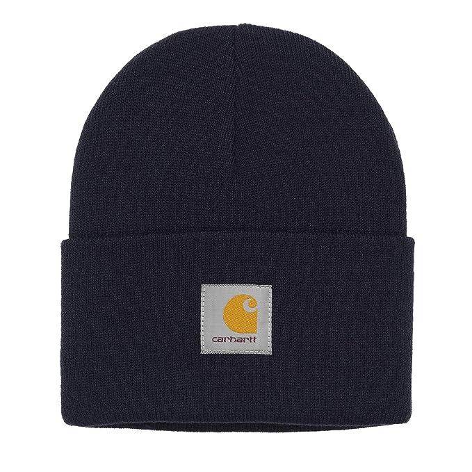 Carhartt WIP Unisexe Homme Femmes Chapeau Hat Hiver Bonnet Hiver Orange   Amazon.fr  Vêtements et accessoires 5a08b6621b7