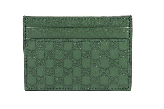 98e18f87d764 Amazon.com: Gucci Microguccissima Leather Money Clip, Marsh Green 308915:  Clothing