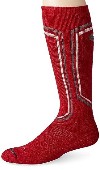 Lorpen Calcetines de lana Merino de esquí para hombre, hombre, color gris oscuro, tamaño mediano: Amazon.es: Deportes y aire libre