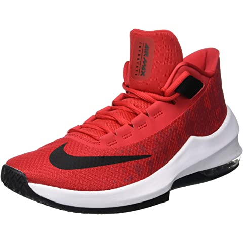 Nike Men's Air Max Infuriate 2 Mid Basketball Shoes: Amazon