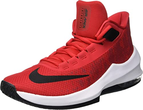 NIKE Air Max Infuriate 2 Mid, Baskets Basses Homme