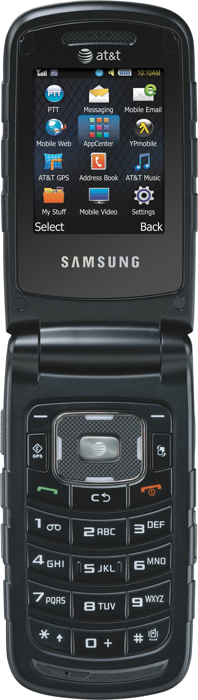 Samsung Rugby II, Black (AT&T) by Samsung (Image #3)