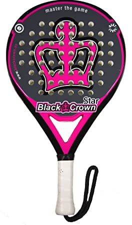pala de padel black crown Star: Amazon.es: Deportes y aire libre