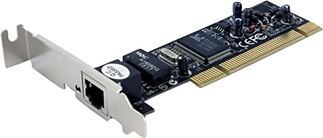 StarTech.com 1 Port Low Profile PCI 10/100 Mbps Ethernet Network Adapter Card (ST100SLP)