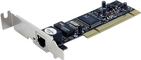 StarTech.com 1 Port Low Profile PCI 10/100 Mbps Ethernet Network Adapter Card (ST100SLP)