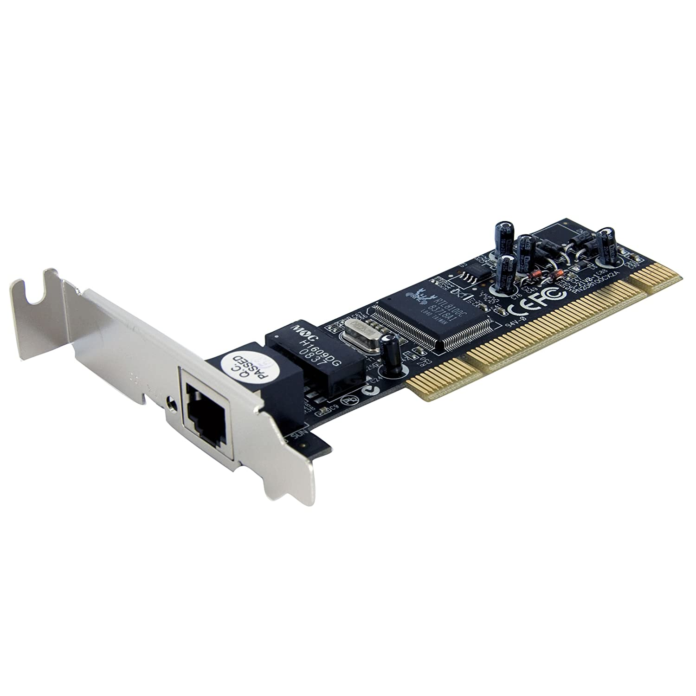 StarTech.com PEX100S - Tarjeta de red PCI Express PCI-E de 1 puerto 10/100 NIC RJ45