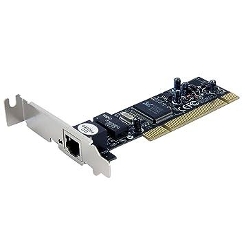 StarTech.com ST100SLP - Adaptador de Tarjeta Red PCI de 1 Puerto ...
