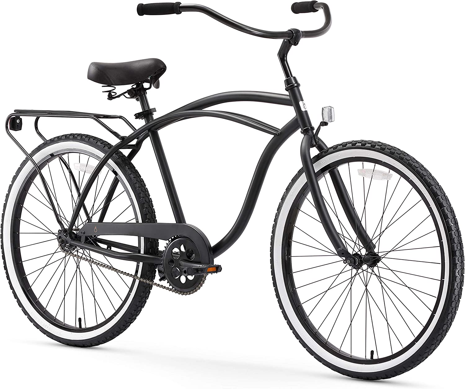sixthreezero Around The Block Men's Single Speed Cruiser Bicycle