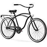 sixthreezero Around the Block Men's Cruiser Bike with Rear Rack (24-Inch and 26-Inch)