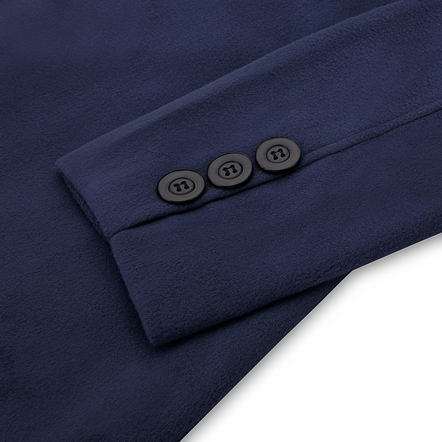 Hasuit Men's Single Breasted Notched Lapel Coat by Hasuit (Image #5)