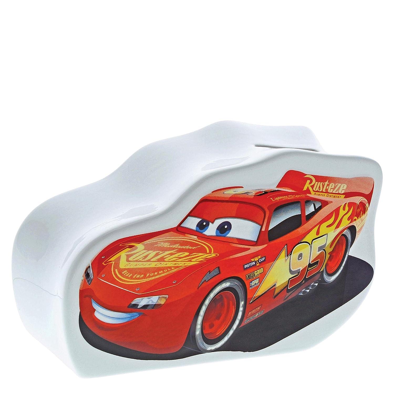 160 x 70 x 100 cm Enchanting Disney Speed-Lightning McQueen Money Bank Ceramic Colourful