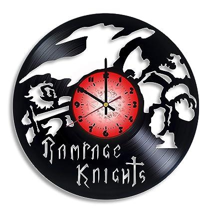 Amazon Com Rampage Knights Computer Game Logo Handmade