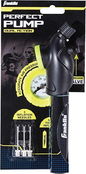 Franklin Sports Perfect Pump and Pressure Gauge