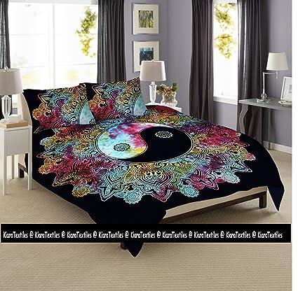Kiara 3 pc Mandala cama postura millones de romántico suave ropa de cama, edredón colcha