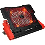 """Thermaltake Massive 23 GT Steel Mesh Panel Single 200mm Red LED Fan Adjustable Speed Control 10""""-17"""" Laptop Notebook Cooling Pad CLN0019"""
