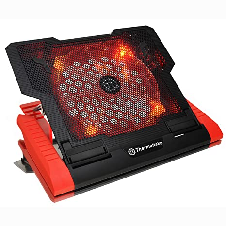 Thermaltake Massive 23 GT Steel Mesh Panel Single 200mm Red LED Fan  Adjustable Speed Control 10