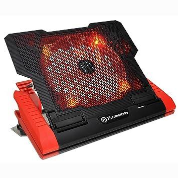 Thermaltake CLN0019 - Base de refrigeración para ordenador portátil de hasta 17, negro