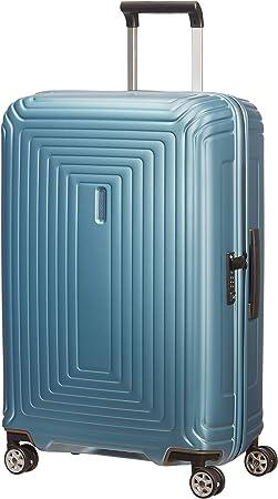 Samsonite Neopulse Spinner M Koffer 69 Cm 74 L Blau Matte Ice Blue Koffer Rucksäcke Taschen
