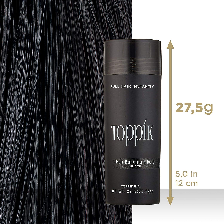 Toppik Fibras Capilares - Tamaño Grande 27.5g - Color Negro