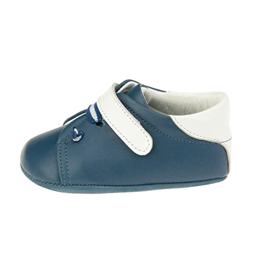 4bc78d4d9 Ella Bonna Baby Sneakers | Cowhide Full Grain Leather | Soft Insole and Sole  | Designer Handmade Shoes | White Velcro Snap | for Baby Boys Girls Toddler