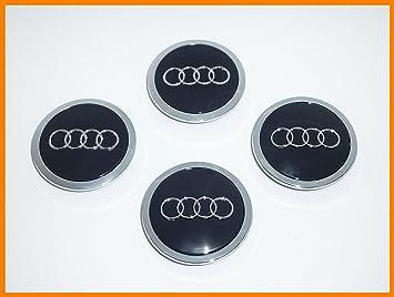 CPLL Audi A1, A2, A3, A4, A6, A8, Q3, Q5, 4 tapacubos de 69 mm, 4B0601170, 8T0601170A: Amazon.es: Coche y moto