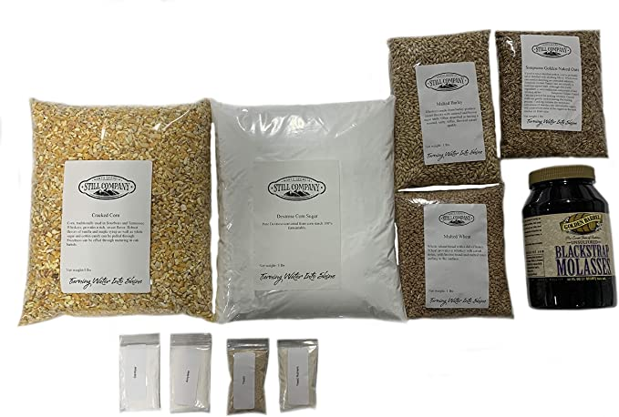 21 lbs SWEET FEED with YEAST moonshine moon mash brewing copper still 15 gal
