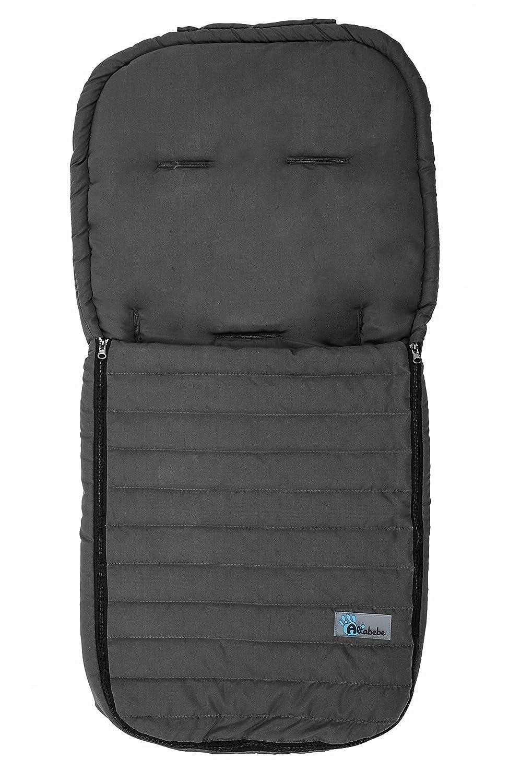 AltaBebe AL2200M-03 - Sommerfußsack aus Microfaser für alle gängigen Sportwagen, Buggys und Jogger. Farbe beige AL2200M - 03