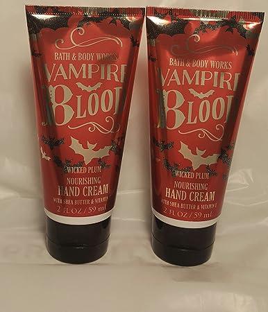 bath and body works halloween 2016 nourishing hand cream set of 2 vampire blood wicked